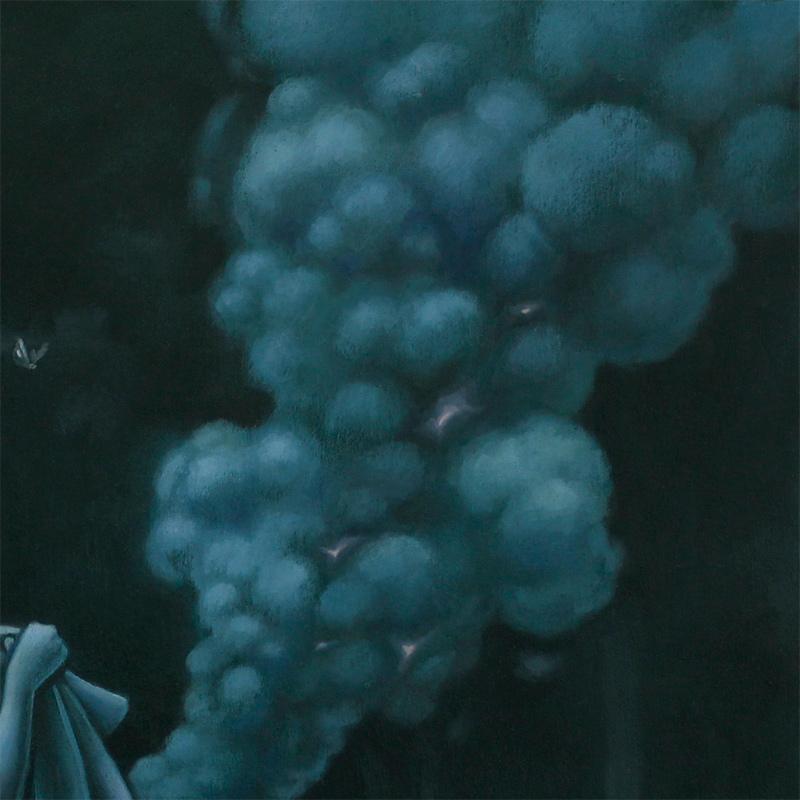 Tara Krebs - Where There's Smoke There's Fire (Detail 2)