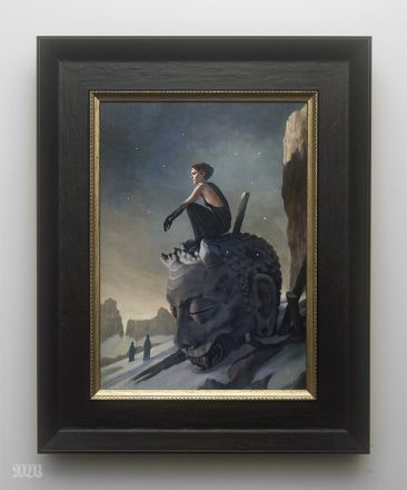 Tom Bagshaw - The Ash Fields (Framed)