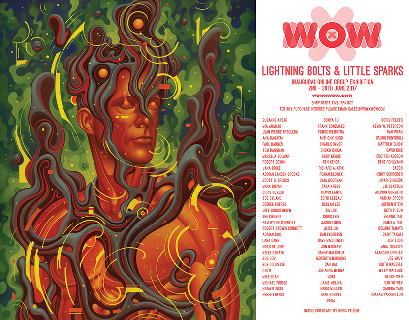 WOW x WOW Lightning Bolts & Little Sparks Flyer