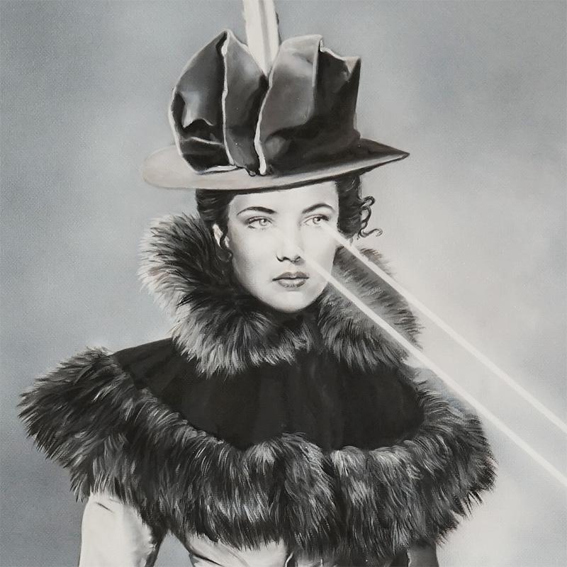 Zoe Byland - Lady Laser (Detail 1)