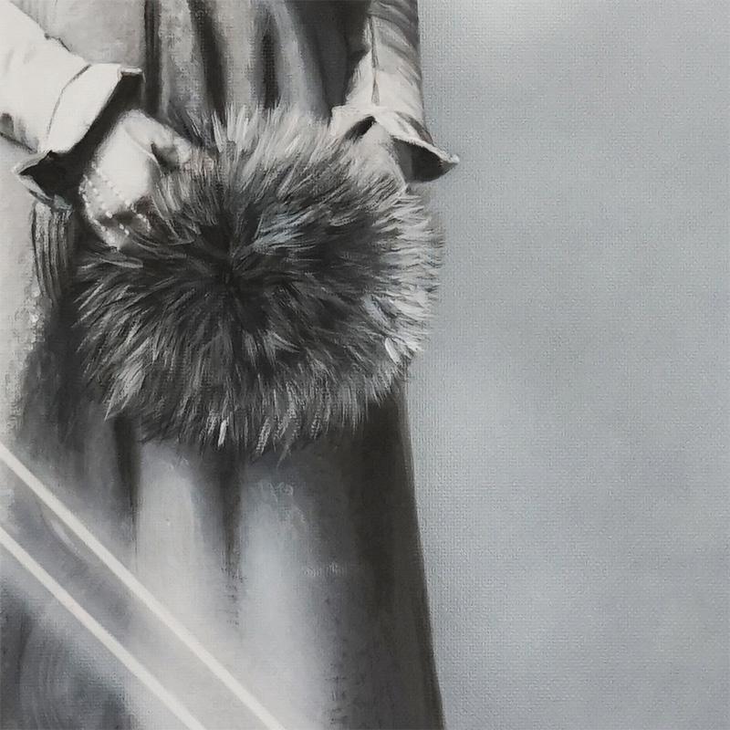 Zoe Byland - Lady Laser (Detail 2)