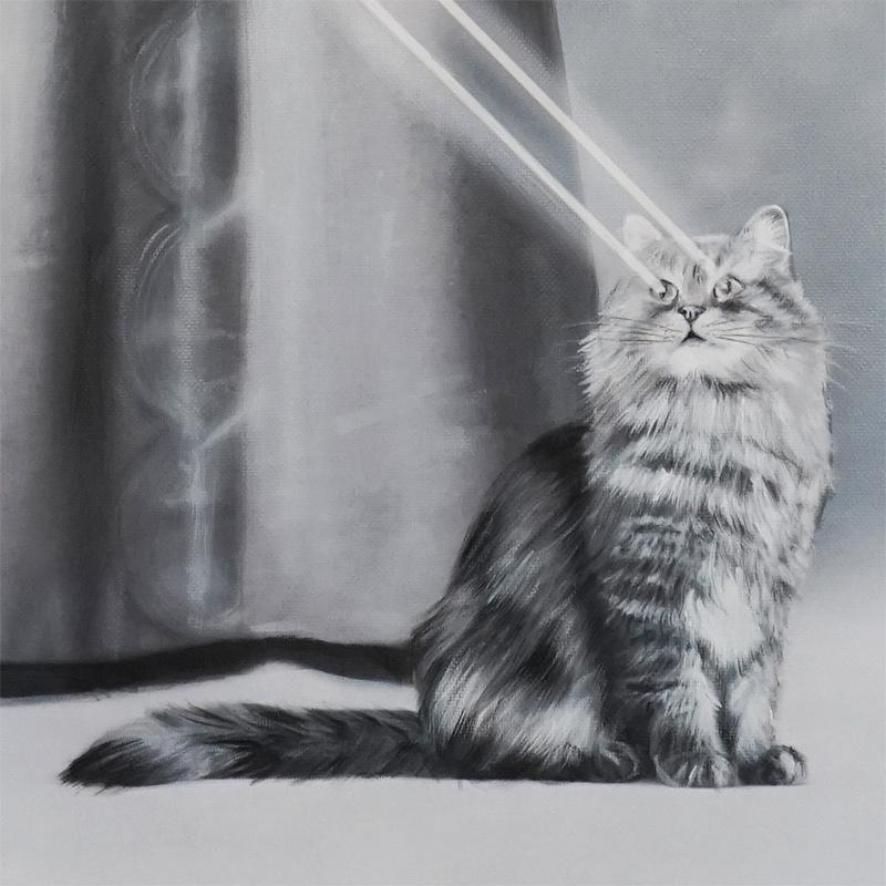 Zoe Byland - Lady Laser (Detail 3)