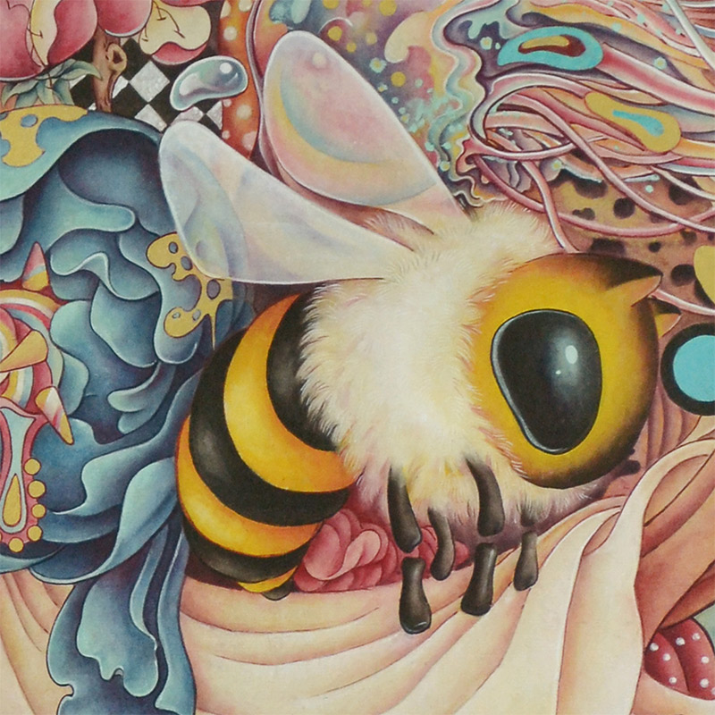 Alice Lin - Miss Rabbit's Garden (Detail 1)