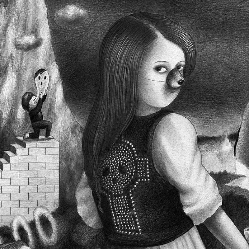 Amandine Urruty - Stairway (Detail 1)