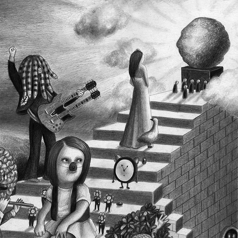 Amandine Urruty - Stairway (Detail 4)