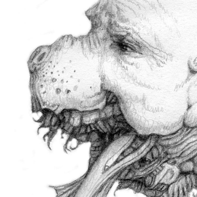 Danny Malboeuf - Molech (Detail 1)