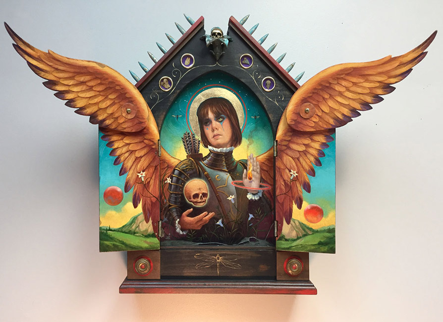 John Walker - Reliquary of a Warrior Angel