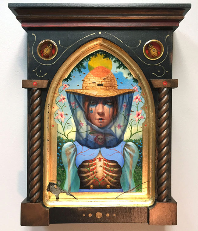 John Walker - Reliquary of an Apiarist