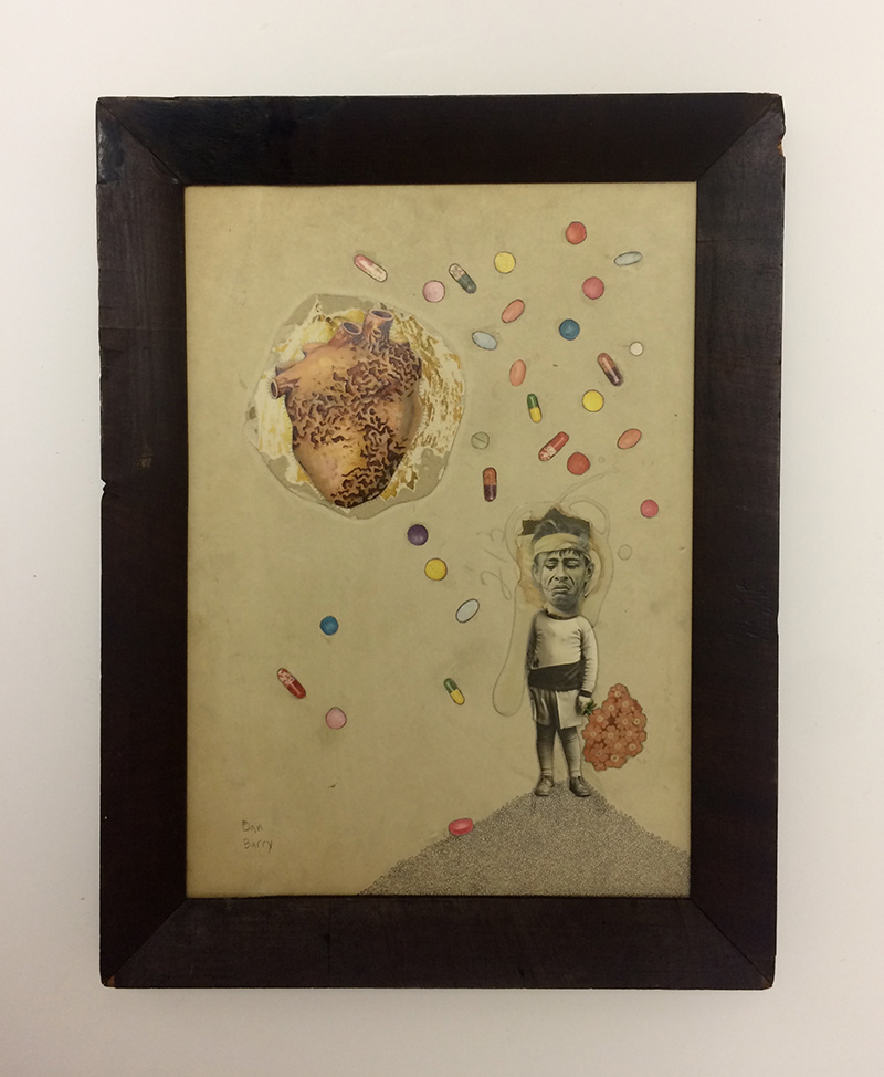 Dan Barry - Pre-existing Condition (Framed)
