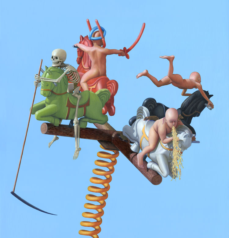 Dan Lydersen - Four Horsemen