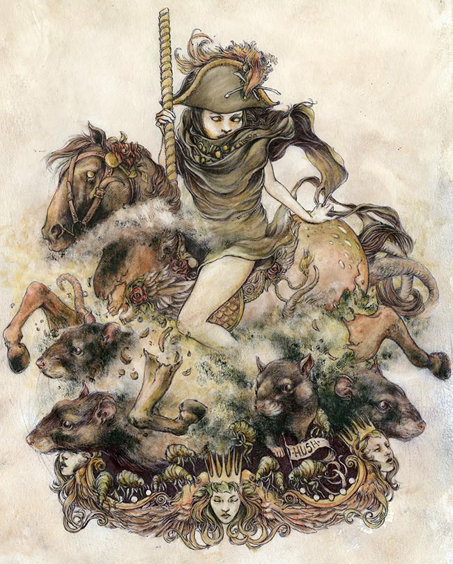 Jeremy Hush - Rat Queen 2