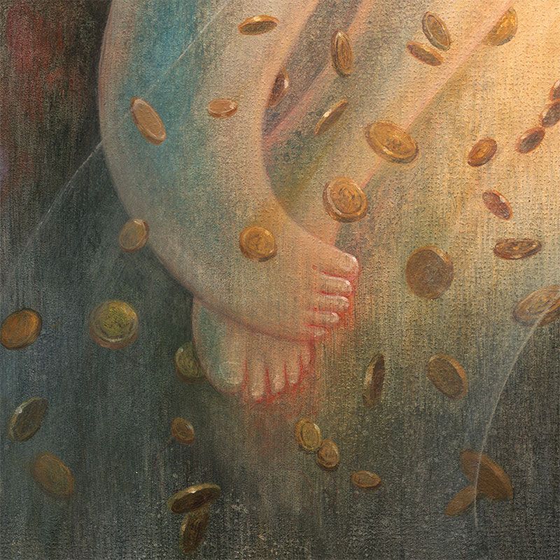 Kelly Denato - The Death of Whimsy (Detail 4)