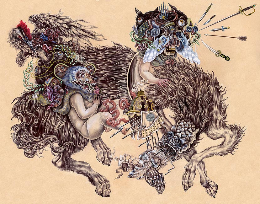 Kit Mizeres - Romulusand Remus