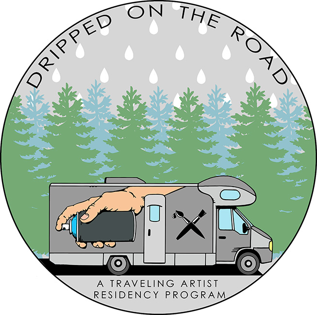 Kit Mizeres - Dripped on the Road Logo