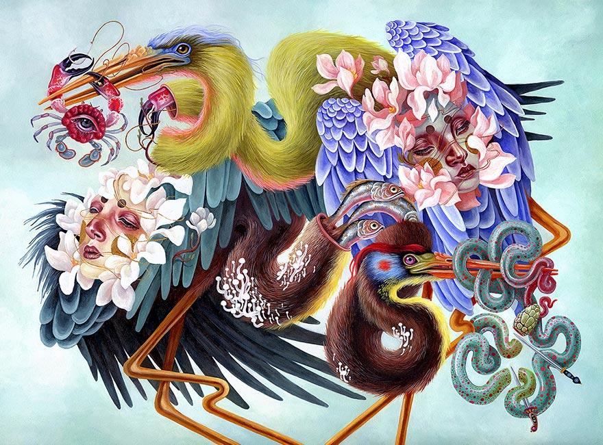 Kit Mizeres - Herons