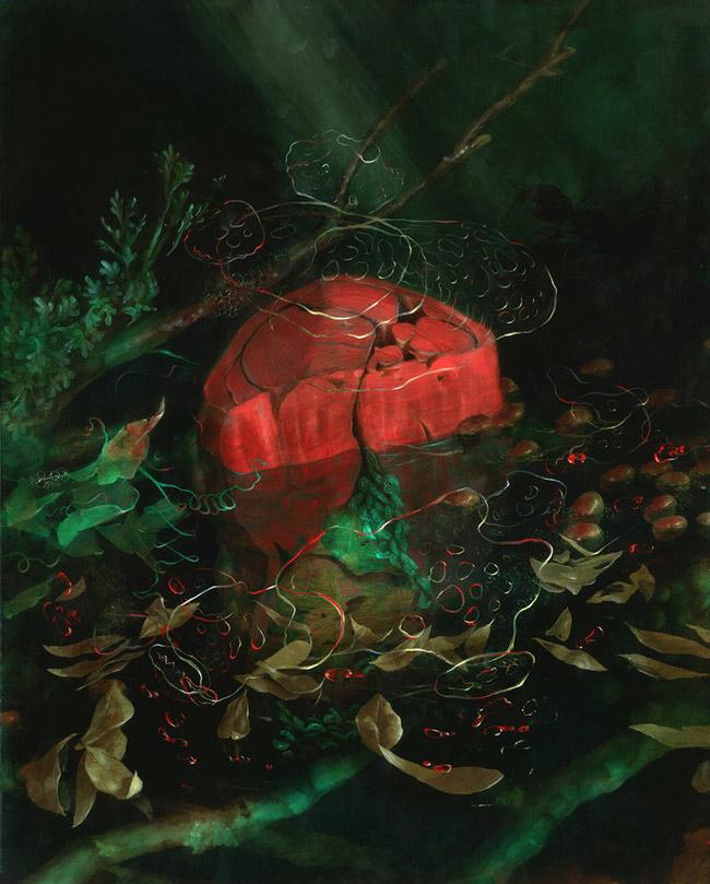 Nicole Duennebier - Cadmium Swamp Floss