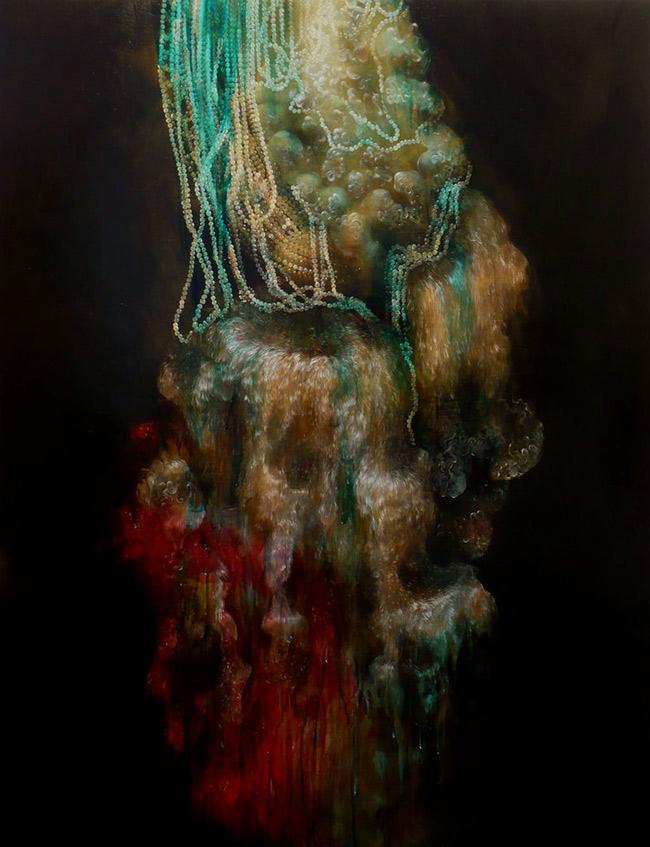 Nicole Duennebier - Turquoise Fleece Wash