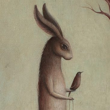 Paul Barnes - The Hare and the Dog (Detail 1)