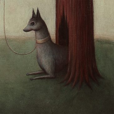 Paul Barnes - The Hare and the Dog (Detail 2)