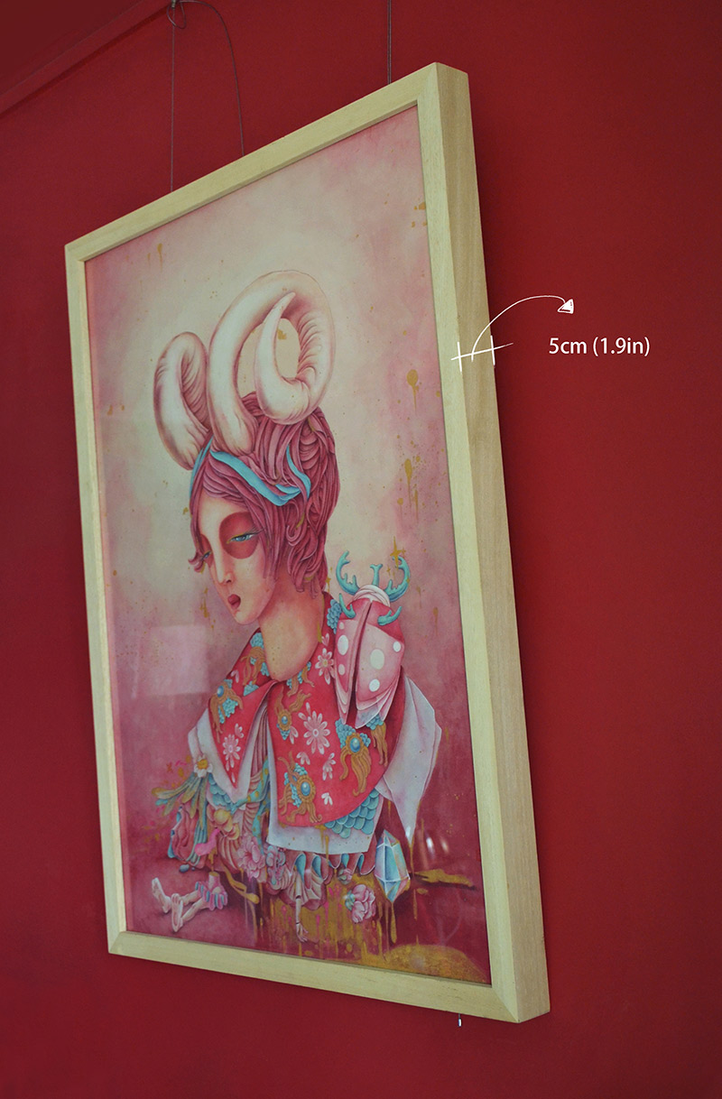 Alice Lin - Lost Doll (Framed - Side)
