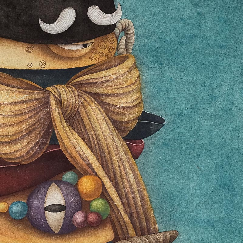 Alice Lin - Madhatter's Hat (Detail 3)