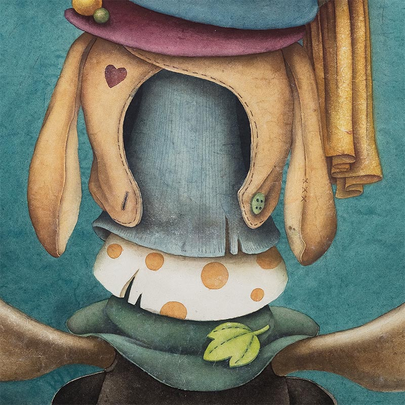 Alice Lin - Madhatter's Hat (Detail 4)
