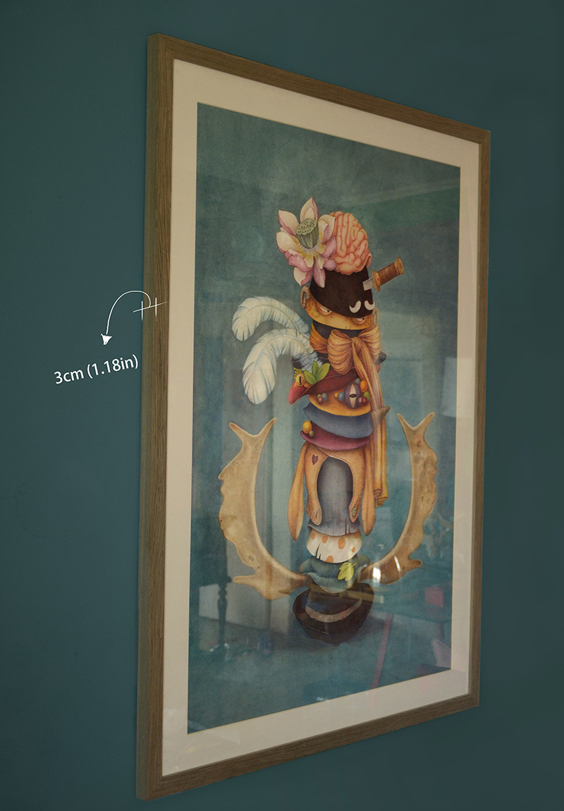 Madhatter's Hat (Framed - Side)