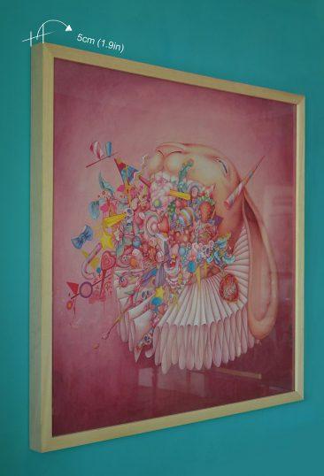Alice Lin - The Desire for Desires (Framed - Side)