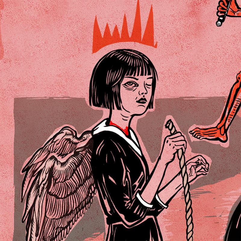 Elif Varol Ergen - Witch Hunt (Detail 2)
