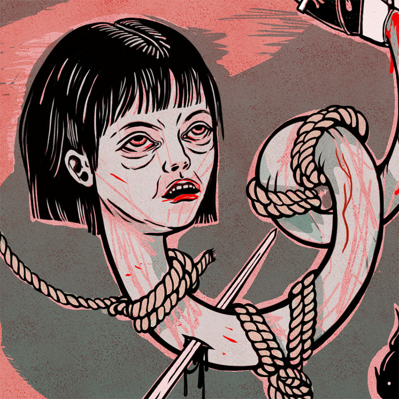 Elif Varol Ergen - Witch Hunt (Detail 3)