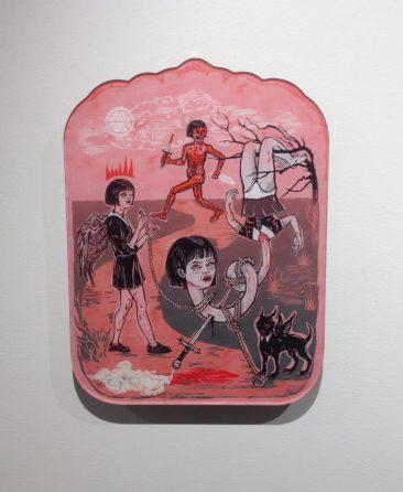 Elif Varol Ergen - Witch Hunt (Hanging on Wall)