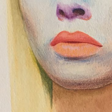 Erlend Tait - Fan Art (Galaxina) (Detail 2)