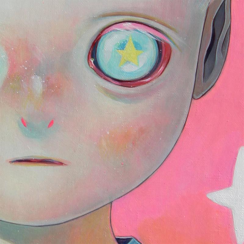 Hikari Shimoda - Children of this Planet #25 (Detail 3)