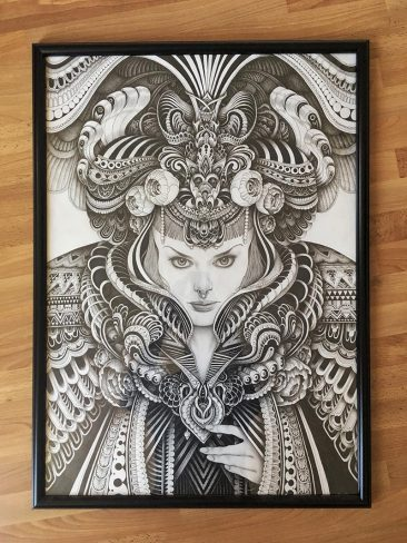 Iain MacArthur - Victorian Gothic(Framed - Front)