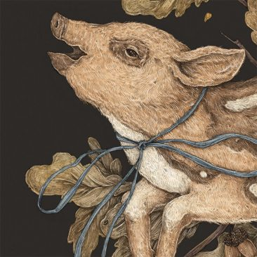 Jessica Roux - Almost Wild, Foundling (Detail 1)
