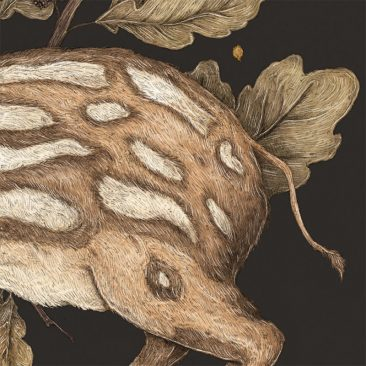 Jessica Roux - Almost Wild, Foundling (Detail 3)
