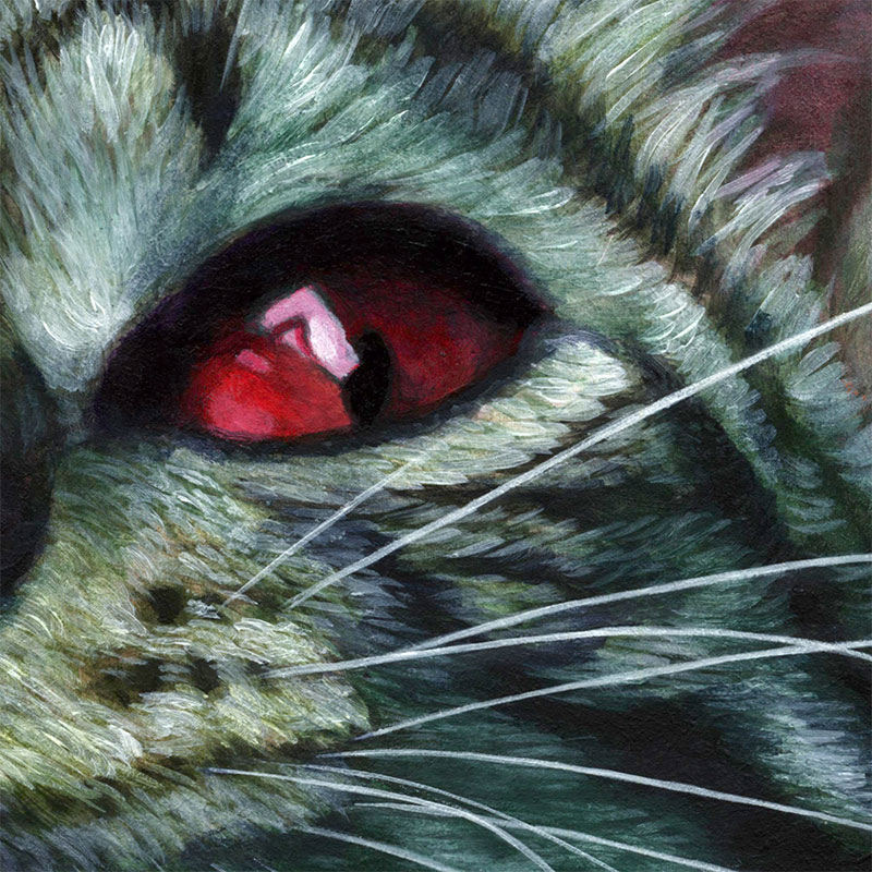 Johannah O'Donnell - The Kittening (Detail 2)