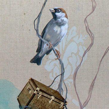Lauren Matsumoto - The Watchers (Detail 1)
