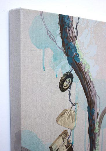 Lauren Matsumoto - The Watchers (Hanging - Side View)