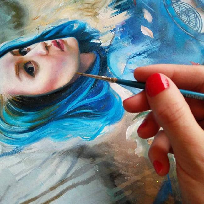 Lioba Brückner - Blue Dragon (WIP)