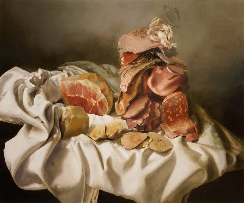 Nicole Duennebier - Still Life with Meat Pile