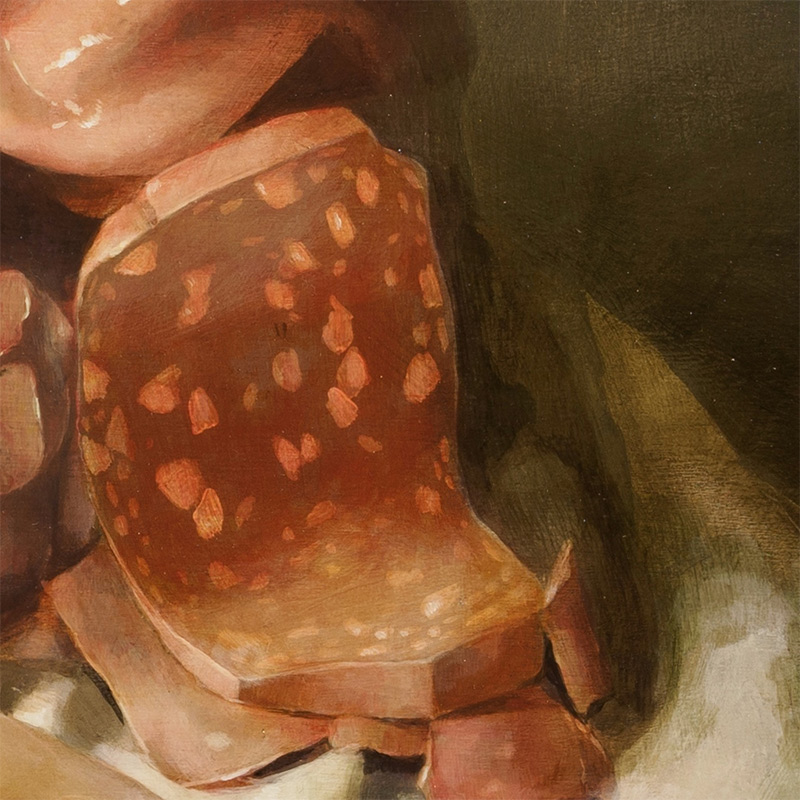 Nicole Duennebier - Still Life with Meat Pile (Detail 2)