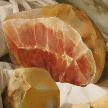 Nicole Duennebier - Still Life with Meat Pile (Detail 4)