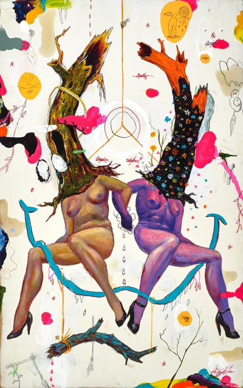P-Jay Fidler - Partaking with Witches in a Dirty Dream Catcher