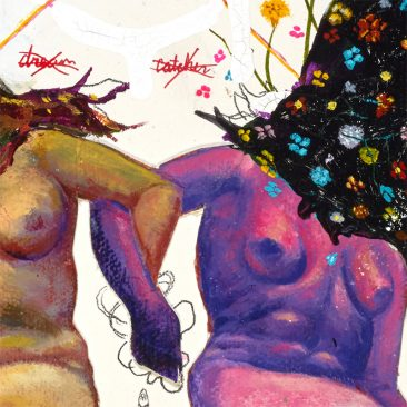 P-Jay Fidler - Partaking with Witches in a Dirty Dream Catcher (Detail 2)