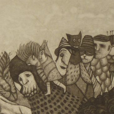 Pamela Tait - The Craigie Woods Gift Exchange (Detail 3)