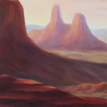 Paul Neberra - The Mysterious Apparition of the Cactus (Nacho's Enlightenment) (Detail 4)