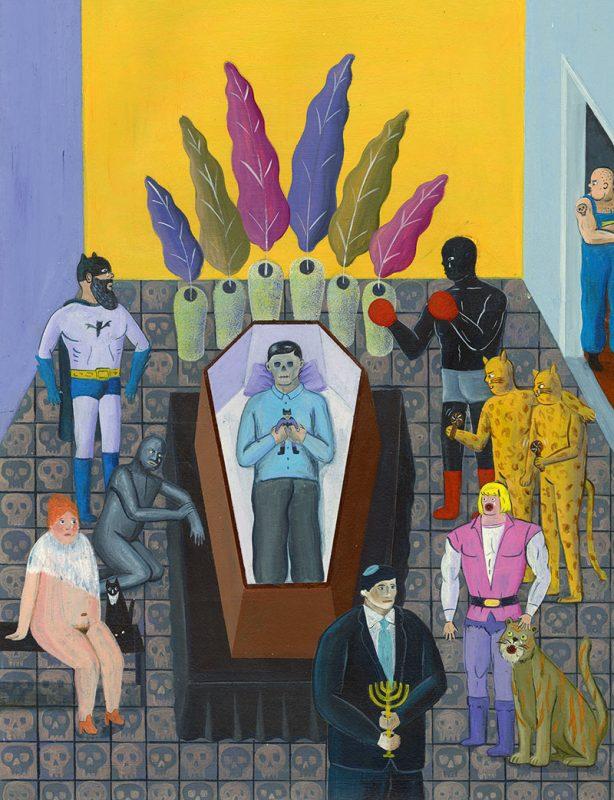 Robert Deutsch - Death of a Collector