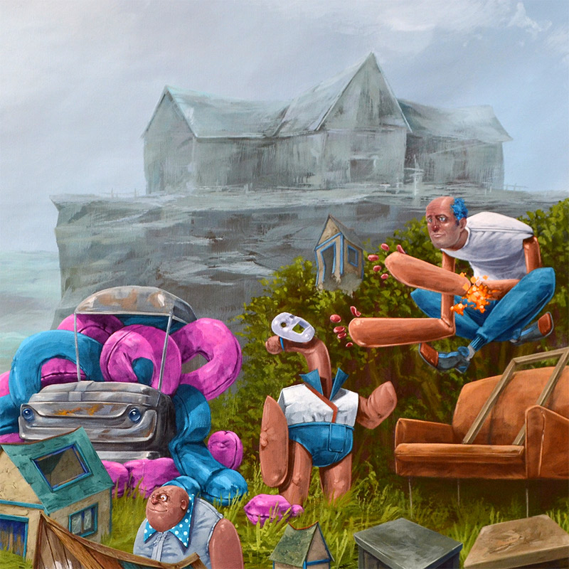 Tof Vanmarque - Bienvenue a la Maison (Detail 2)