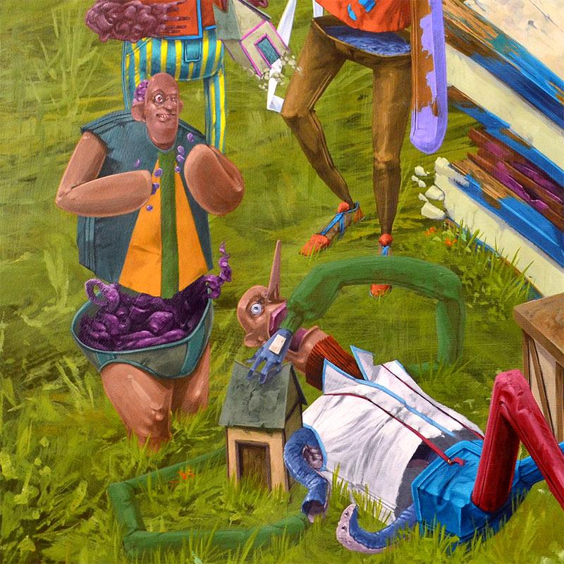Tof Vanmarque - Bienvenue a la Maison (Detail 3)